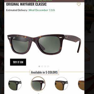 Ray-Ban Wayfarer Sunglasses!
